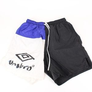Vintage Umbro Color Block Athletic Soccer Shorts